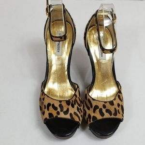 Steve Madden Animal Print Shoes 10M *Read*